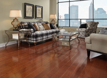 "Ty Pennington Hardwood Natural 3/4""x5"" Ash Fraxinus Americana 1320 Stained Finish Solid"
