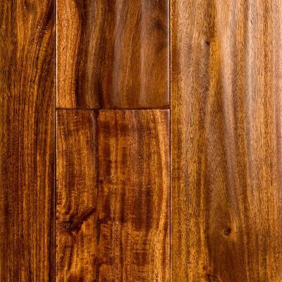 Golden teak flooring