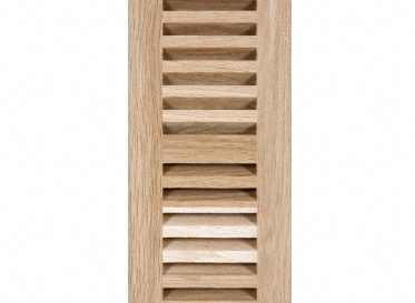 "4"" x 12"" White Oak Drop In Grill"