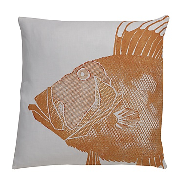 "Fresh, functional ""fine art"" pillows for everday living. These original throw pillows from Dermond Peterson Design are expressive and playful. Each one is block printed by hand on exceptional linen an"