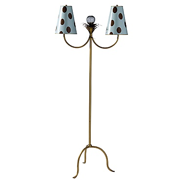 Maine Cottage: Dottie Floor Lamp :  beautiful living home furnishings light fixture modern