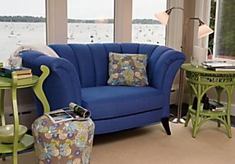 Maine Cottage: Shop Rooms :  interior design design contemporary design loveseat