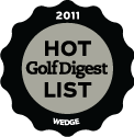 gold digest 2011 hot list silver award for wedges