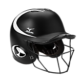 MBH250 MVP G2 OSFM Batter's Helmet with FP Mask S/M (Two-tone)