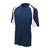 Mizuno Youth 2 Button Colorblock Jersey G3