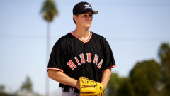 Matt Cain waits for a call he likes