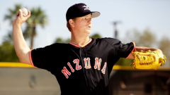 Matt Cain prepares to release the ball