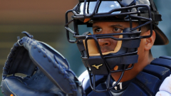 Victor Martinez waiting for a fastball