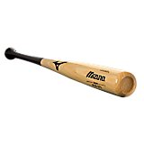 Mizuno Classic Ash - Black/Natural (MZA271) Baseball Bat