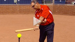 Mike Candrea shares hitting tips