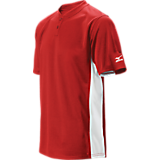 Mizuno Youth 2 Button Colorblock Jersey