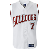 Mizuno Youth Full Button Sleeveless Jersey