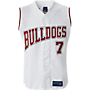 Youth Full Button Sleeveless Jersey