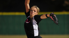 Jennie Finch in her windmill windup