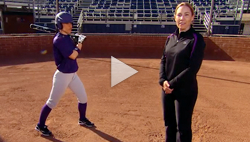 Heather Tarr talks about hiding hitting positions