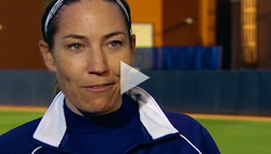 Coach Tarr talks about her fastpitch career