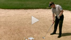 Luke Donald bunker tip video