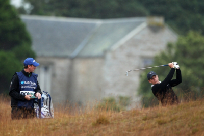Luke Donald prepares for the Open Championship