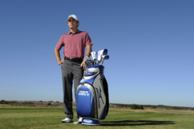 Charles Howell III with Mizuno Bag