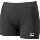 Flat Front Volleyball Shorts