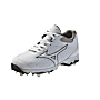 Mizuno 9-Spike Sweep (White/Black)