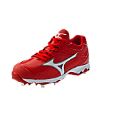 Mizuno 9-Spike Sweep (Red/White)