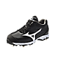 Mizuno 9-Spike Sweep (Black/White)