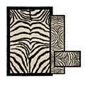 Zebra Safari Black - 3 Piece Set
