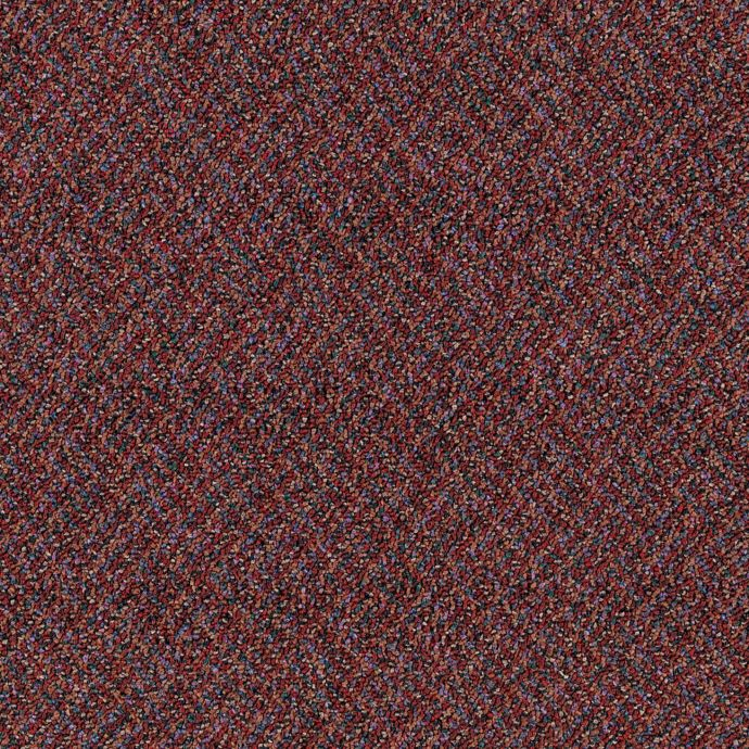 Carpet Filigree 778-395 TheaterRed