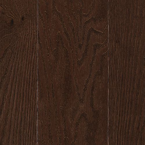 "Hardwood Rockford Solid 5"" Red Oak Chocolate 11 thumbnail #1"
