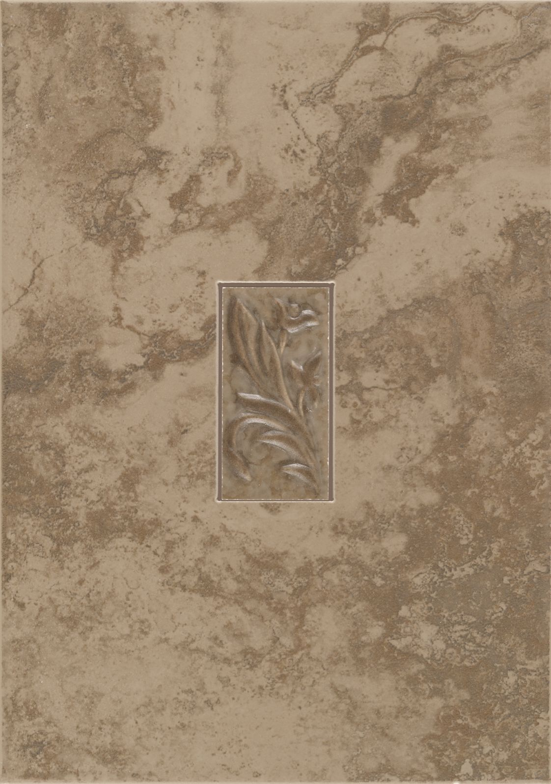 CeramicPorcelainTile PavinStoneWall T717-PS02 BrownSuede