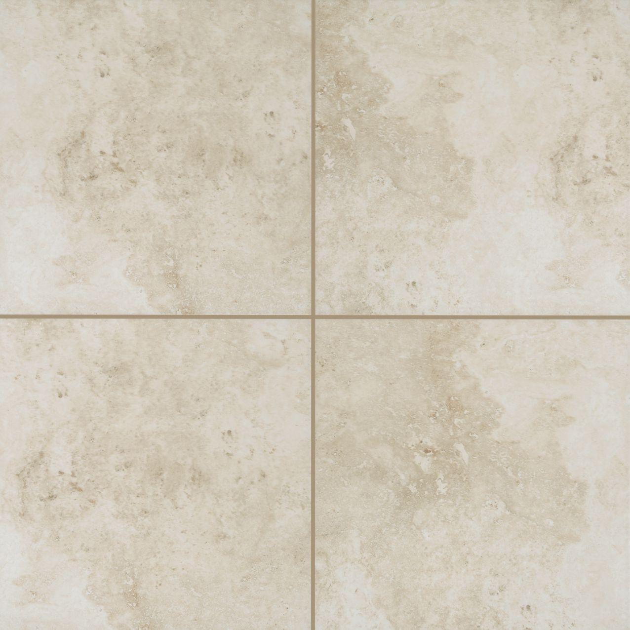 CeramicPorcelainTile Cassaro T821-CO01-18x18-FieldTile-Ceramic Blanc