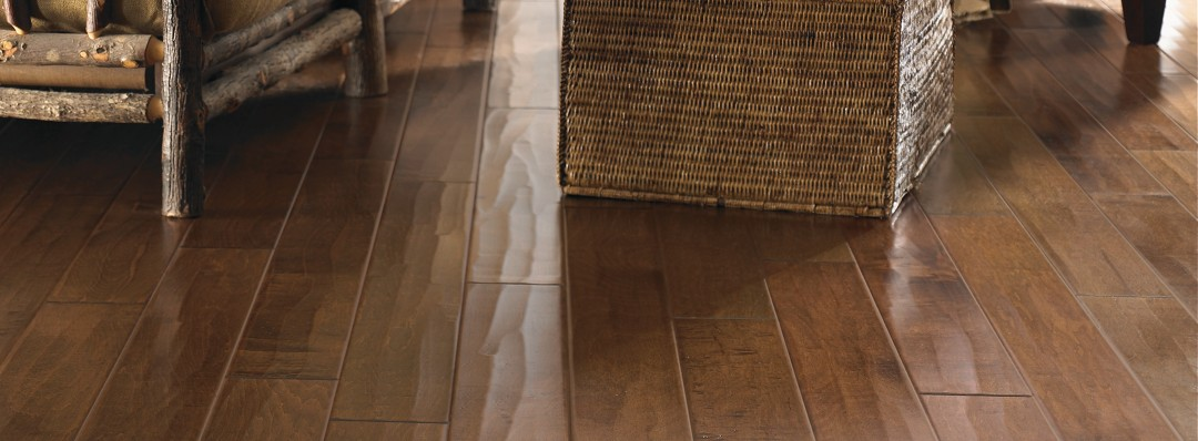 Brindisi Plank Hardwood Mocha Maple Hardwood Flooring