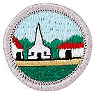 Citizenship in Community Merit Badge Emblem