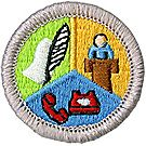 Communications Merit Badge Emblem