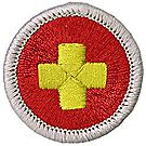 First Aid Merit Badge Emblem