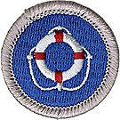 Lifesaving Merit Badge Emblem
