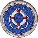 Lifesaving Merit Badge Emblem