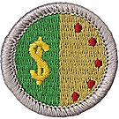 Personal Management Merit Badge Emblem