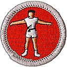 Personal Fitness Merit Badge Emblem