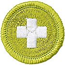 Safety Merit Badge Emblem