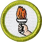 Sports Merit Badge Emblem