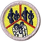 Family Life Merit Badge Emblem