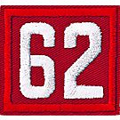 Two-digit Custom Unit Numeral (Red)