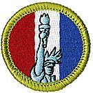 American Heritage Merit Badge Emblem