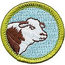 Animal Science Merit Badge Emblem