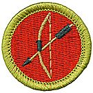 Archery Merit Badge Emblem