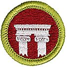 Architecture Merit Badge Emblem