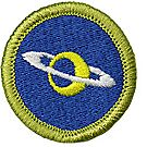 Astronomy Merit Badge Emblem