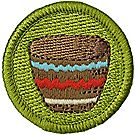 Basketry Merit Badge Emblem